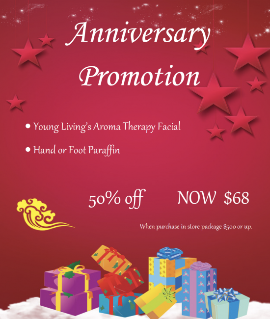 Anniversary Promotion